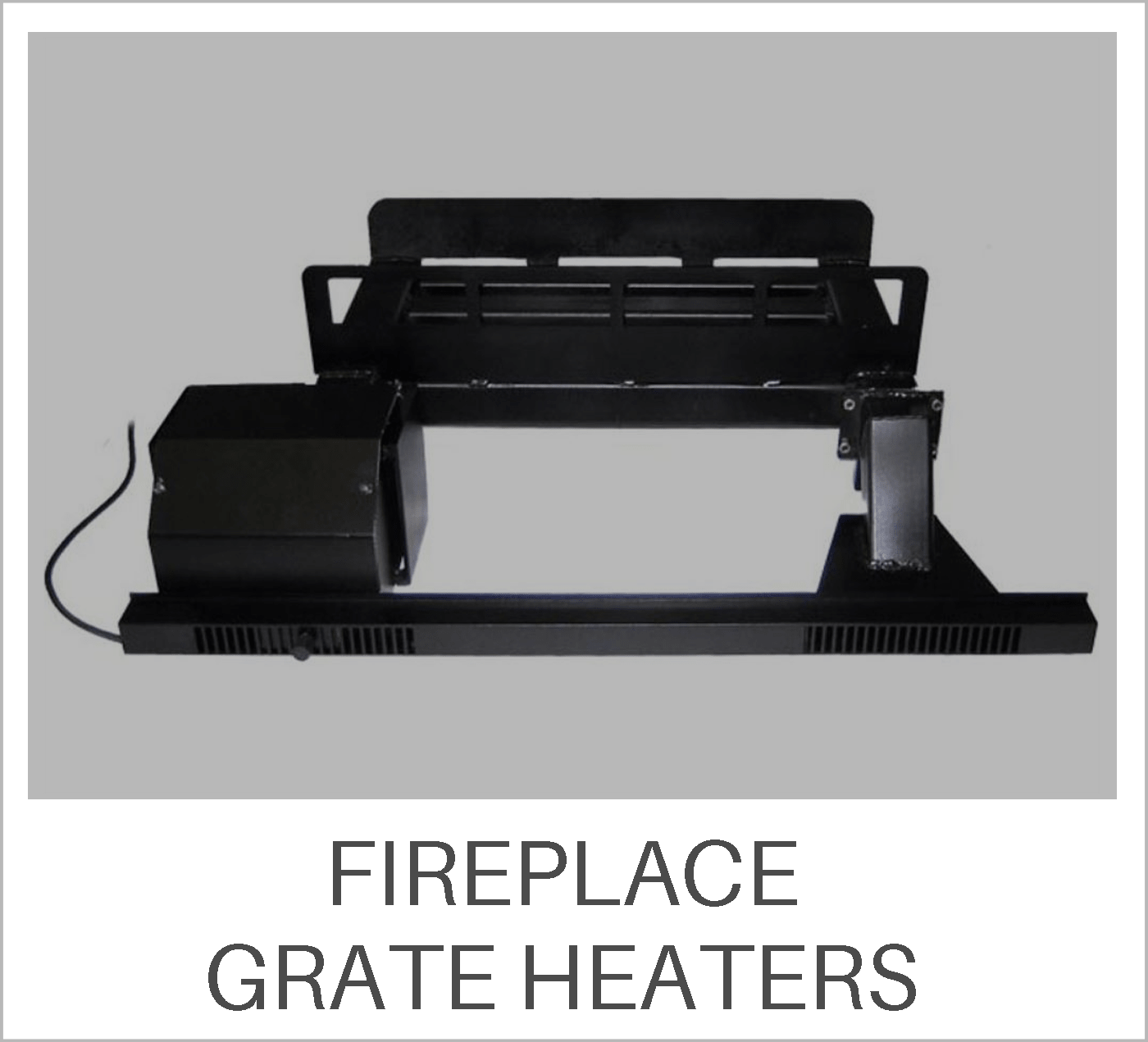 Fireplace Grate Heaters Learning Center
