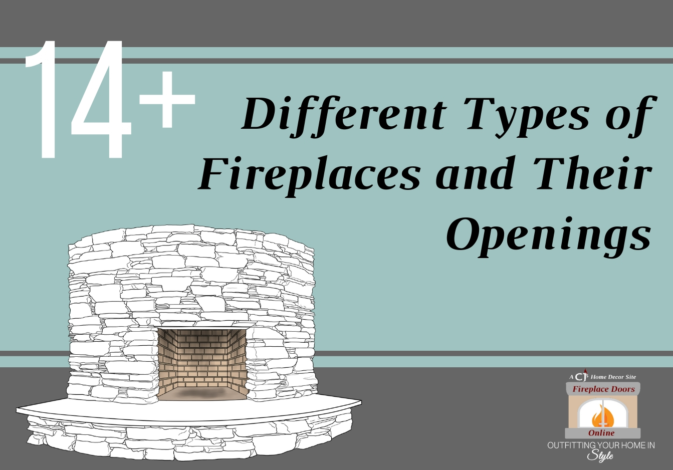 14+ Different Types of Fireplaces and Their Openings
