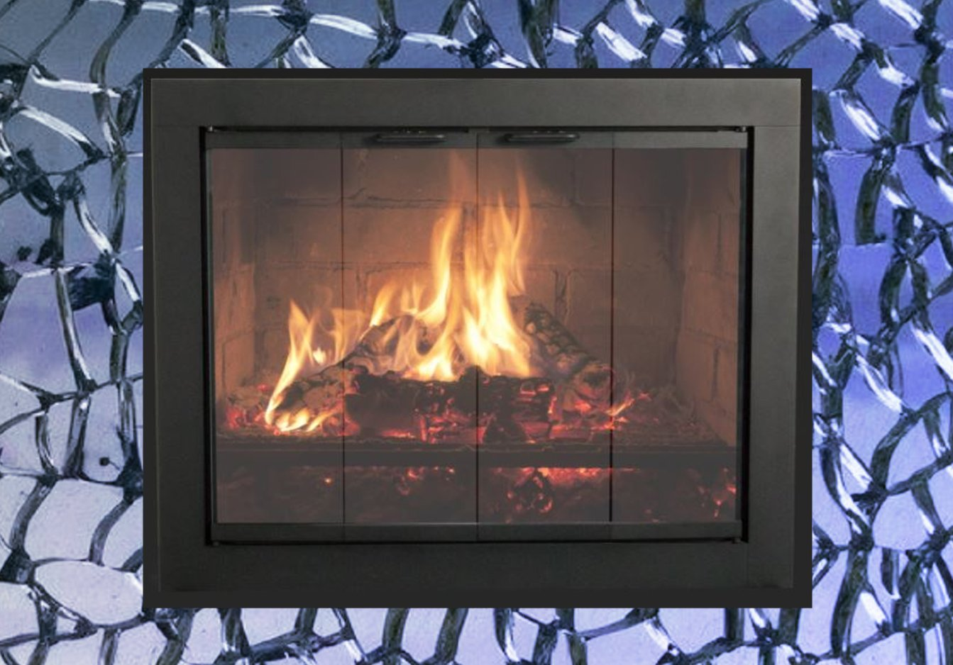 How to replace your fireplace door glass