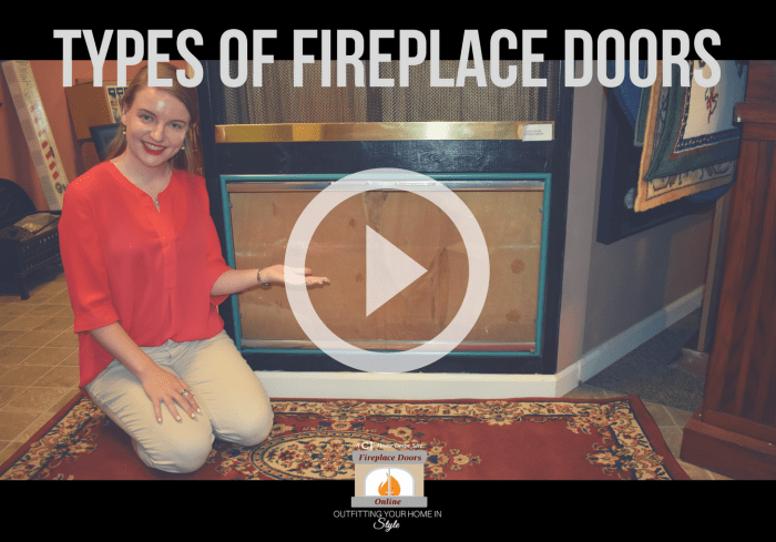 Our blog that spreads some light on the 3 different fireplace door styles
