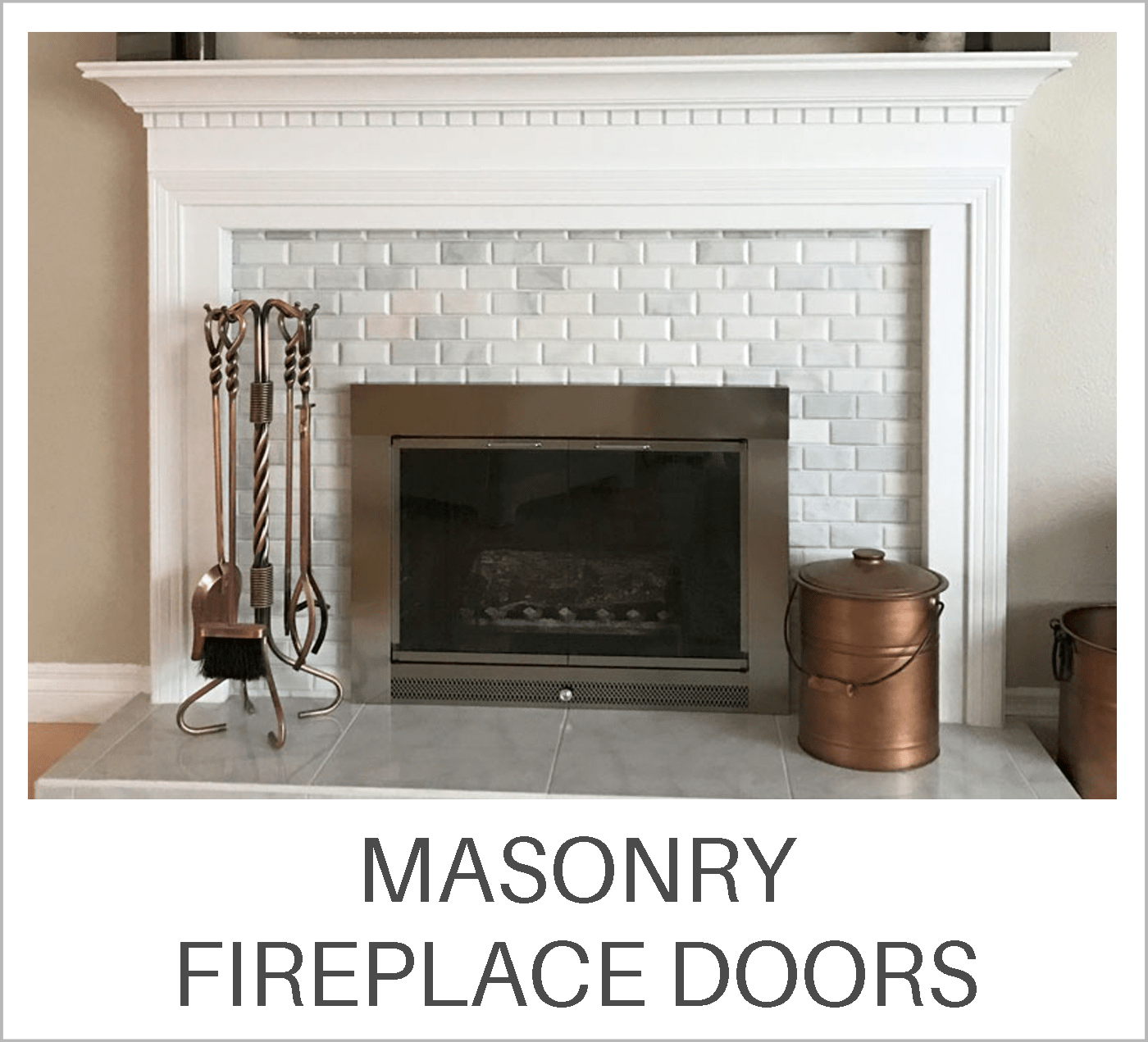 Masonry Fireplace Doors Learning Center
