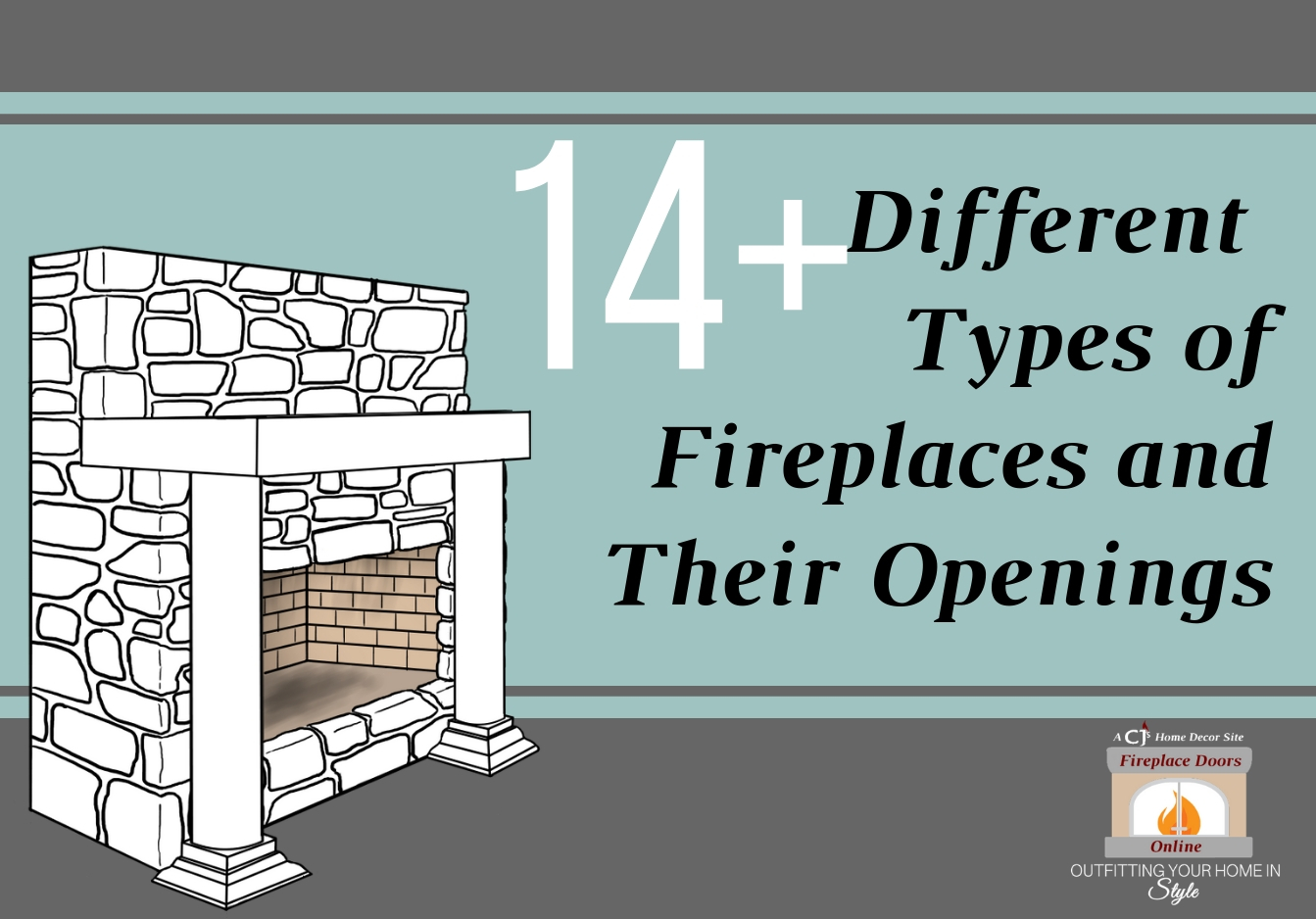14+ Different Types of Fireplace and Their Openings