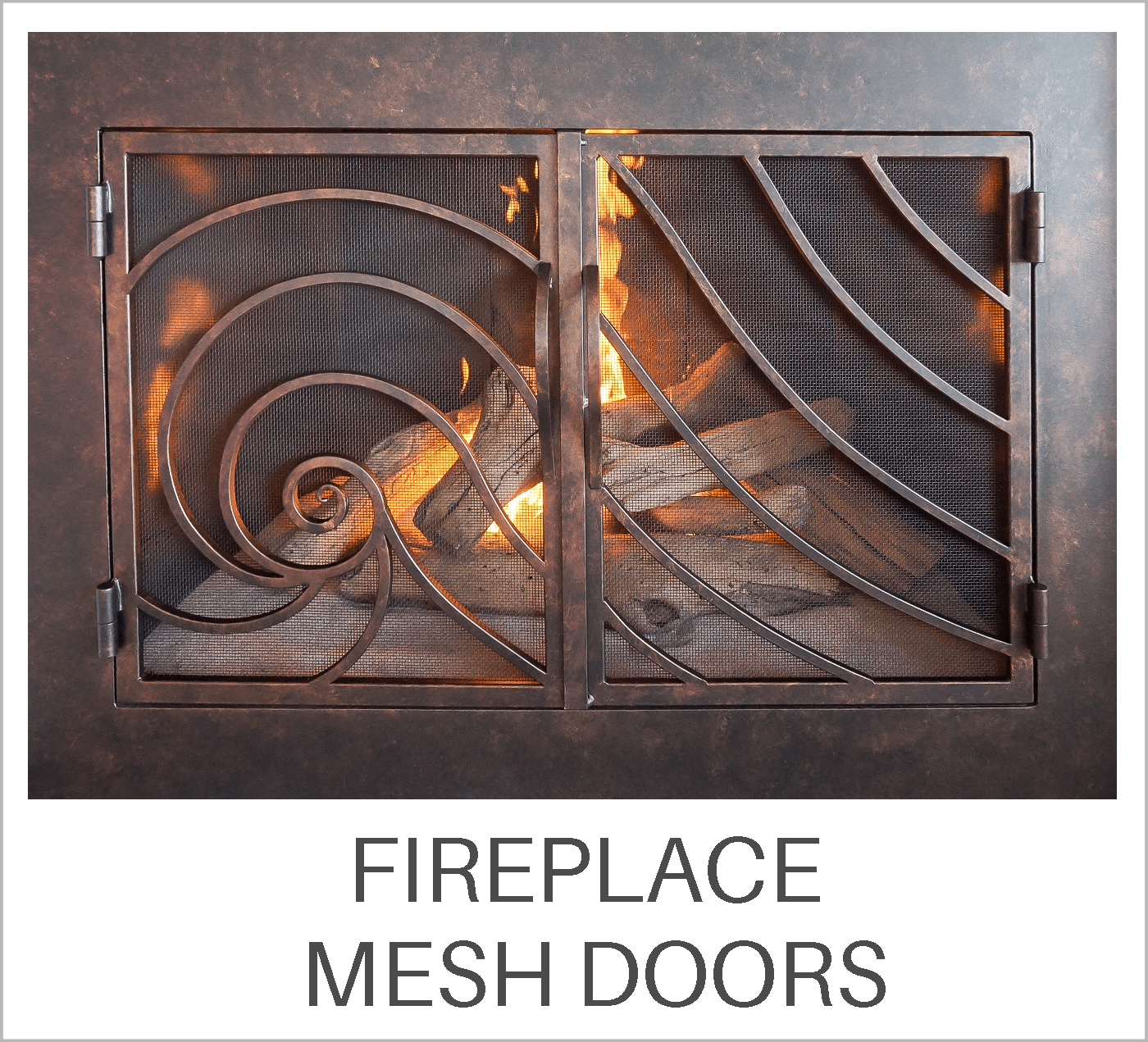Fireplace Mesh Doors Learning Center