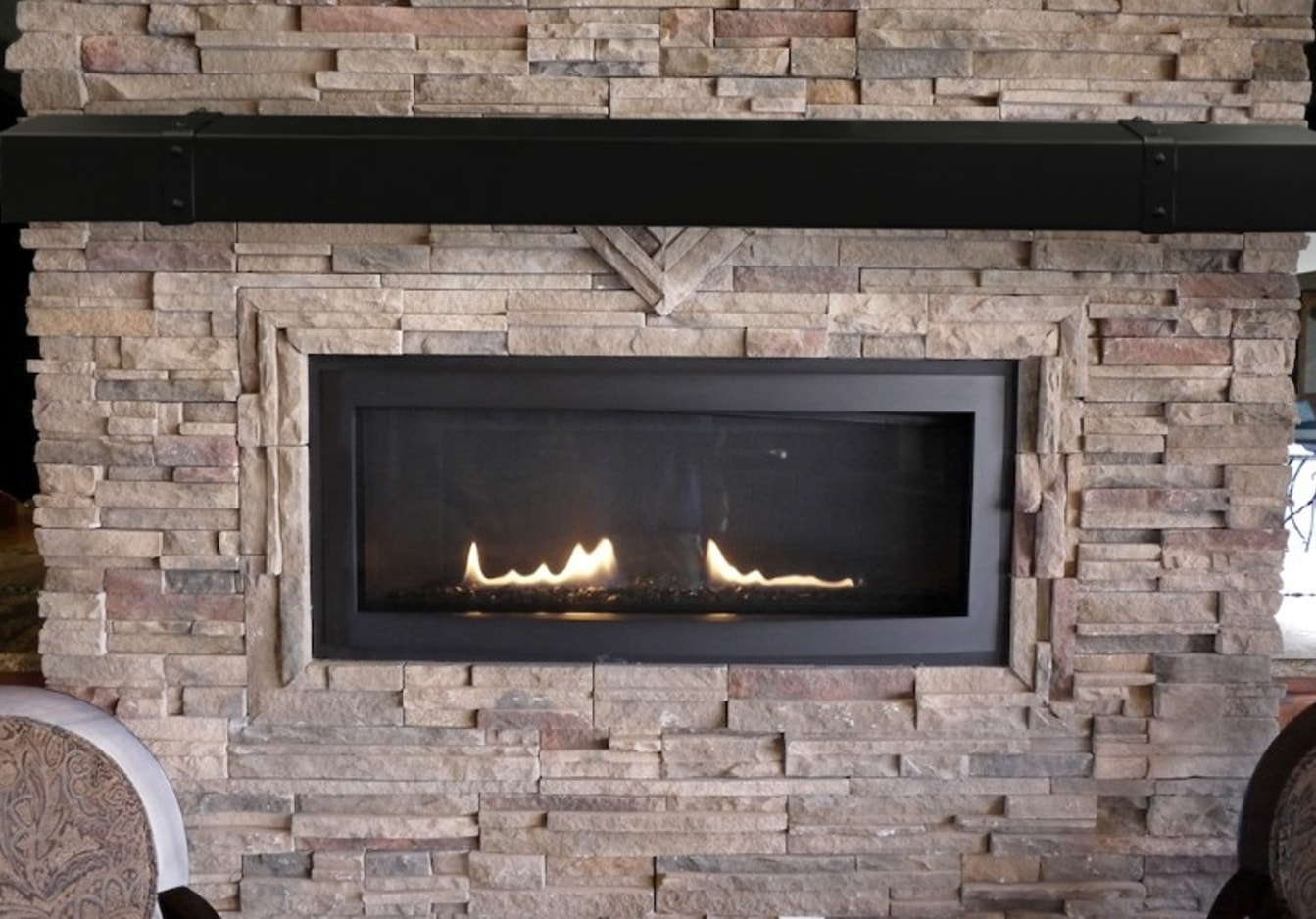 Clearance Requirements for a Mantel or Mantel Shelf