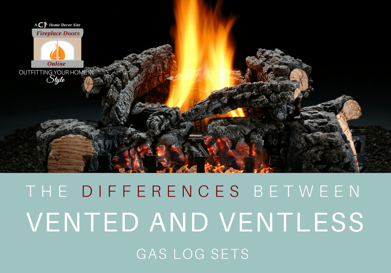 Vented vs Ventless Gas Log Sets