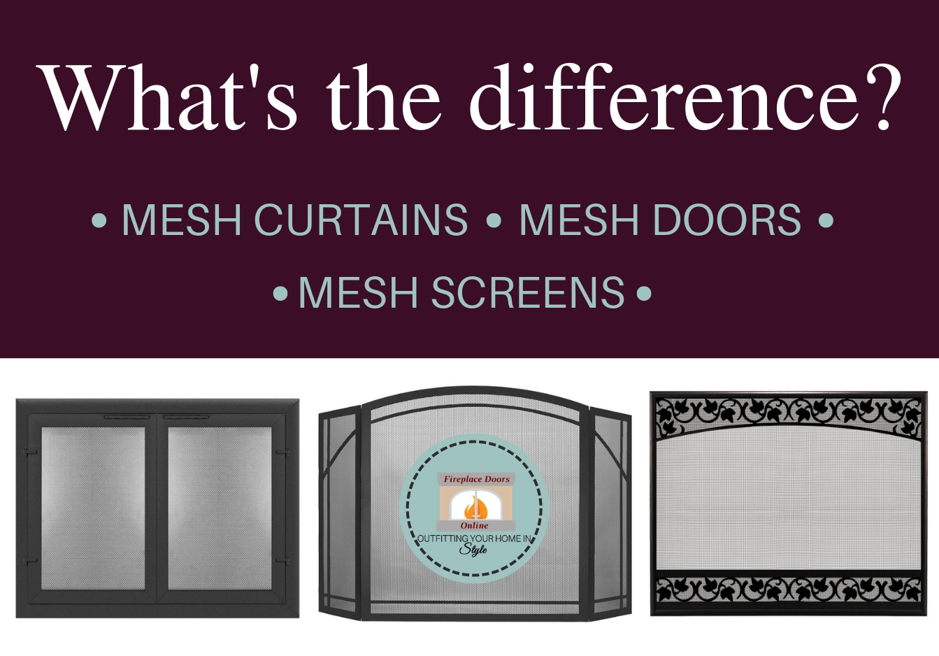 Difference Between Mesh Curtains Doors And Screens