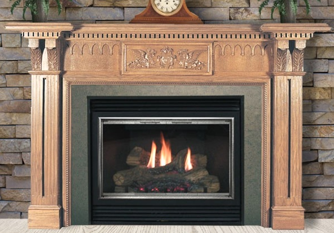 Shop All Mantels