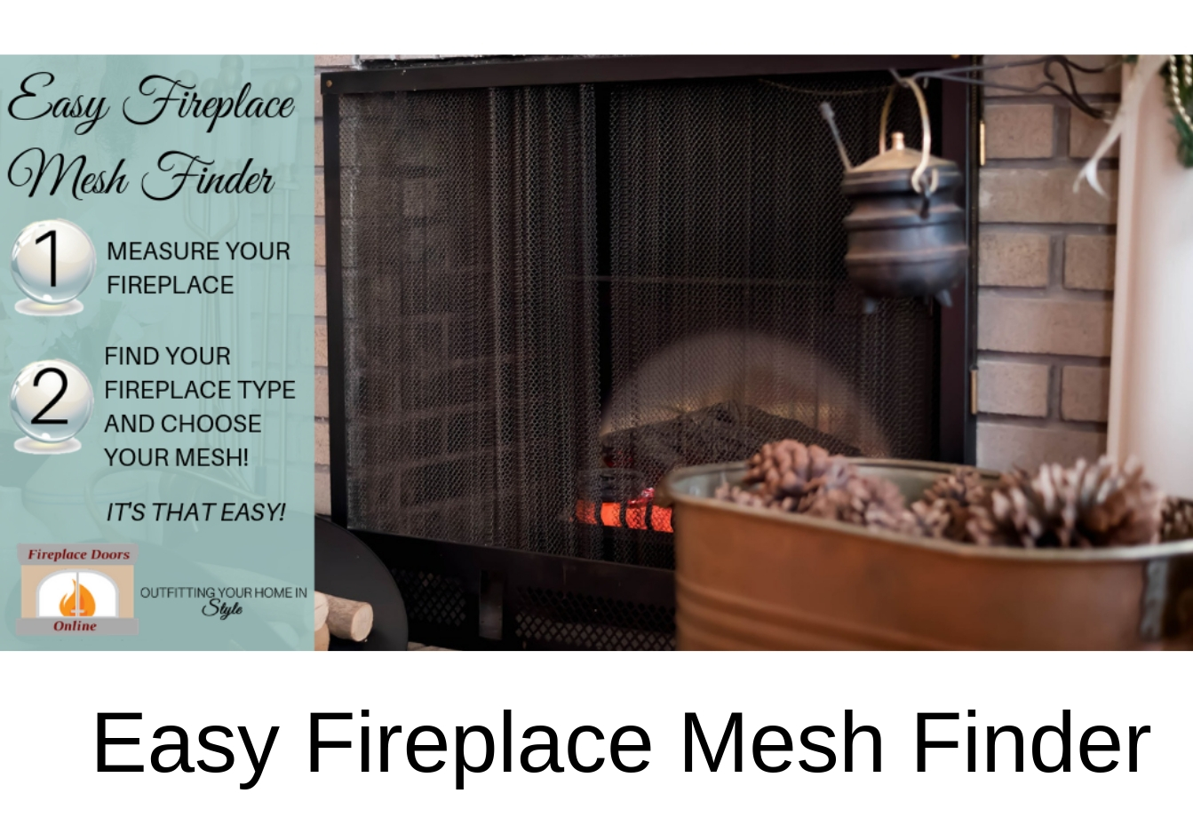 Easy Fireplace Mesh Finder