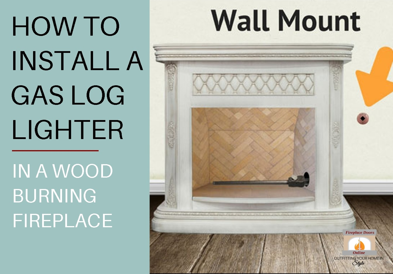 How To Install A Gas Log Lighter In A Wood Fireplace