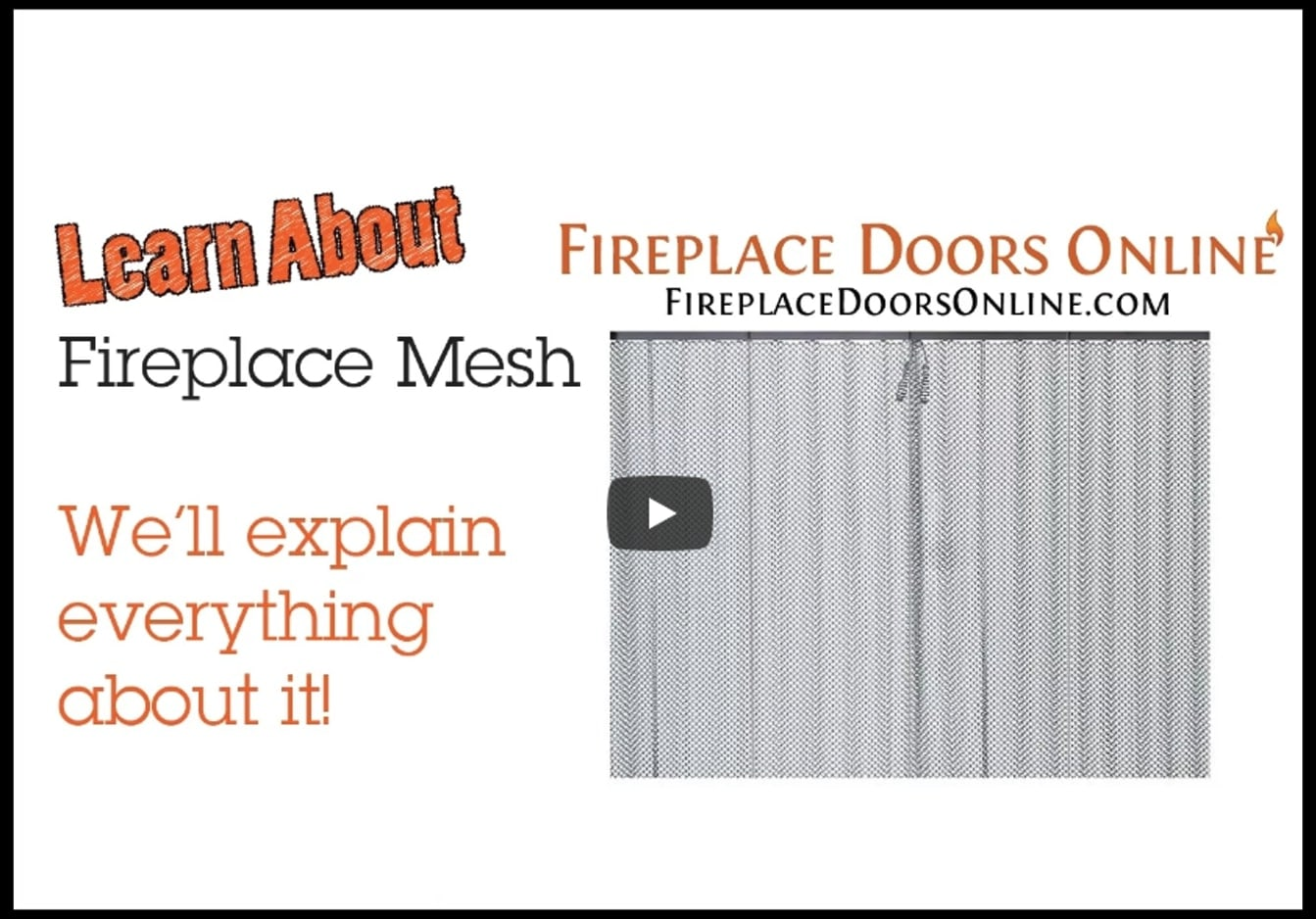 All About Fireplace Mesh