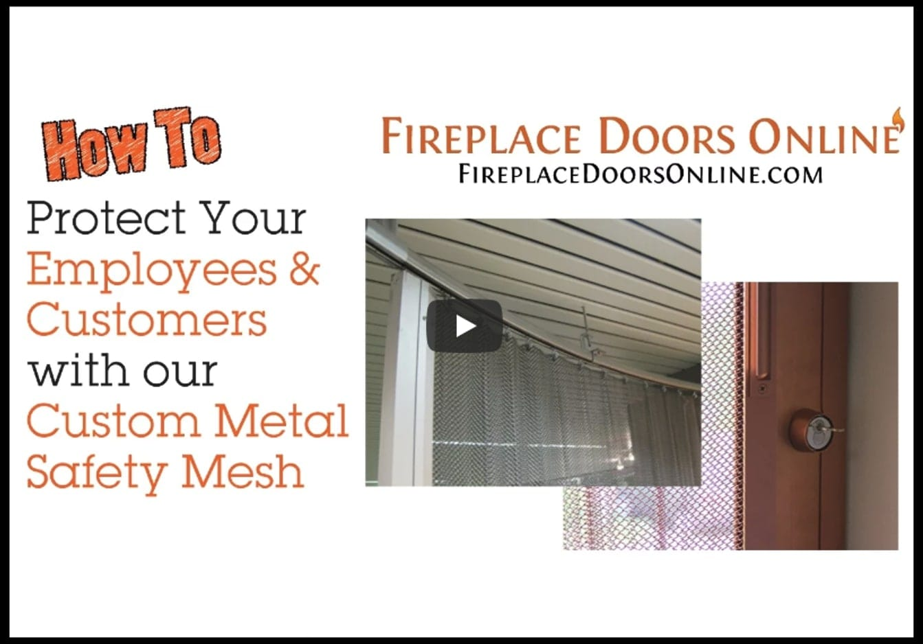 Protect Your Employees With Our Custom Metal Safety Mesh