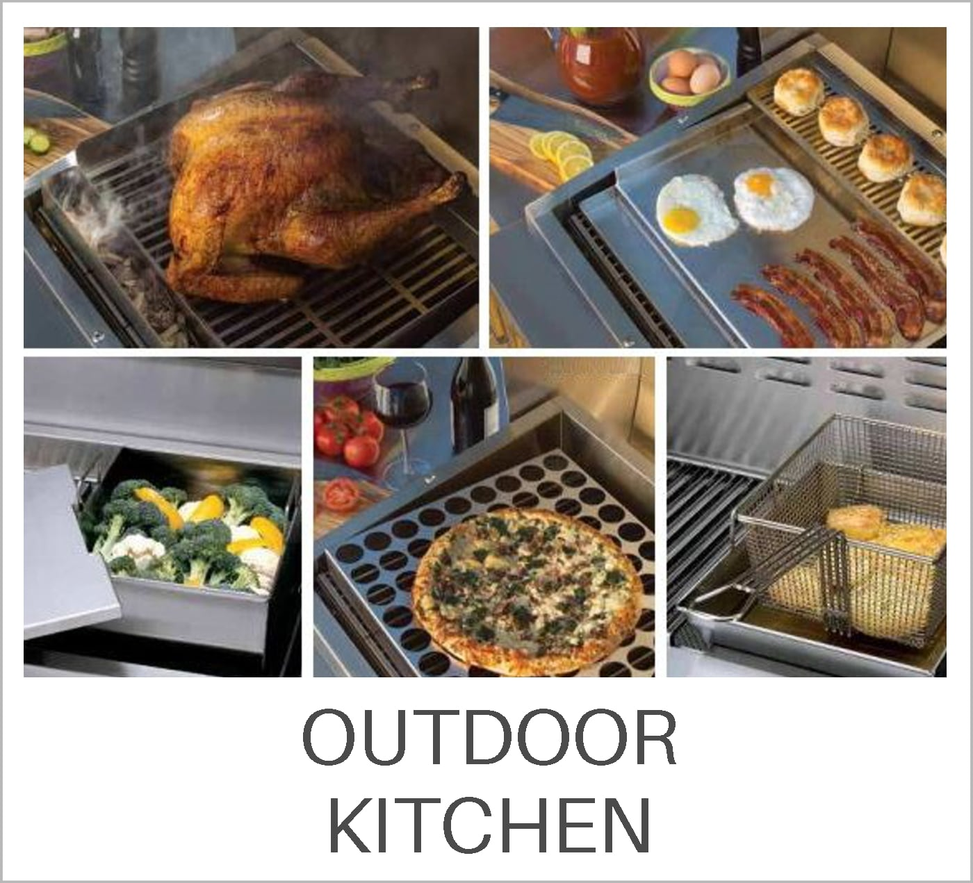 Outdoor Kitchen Learning Center