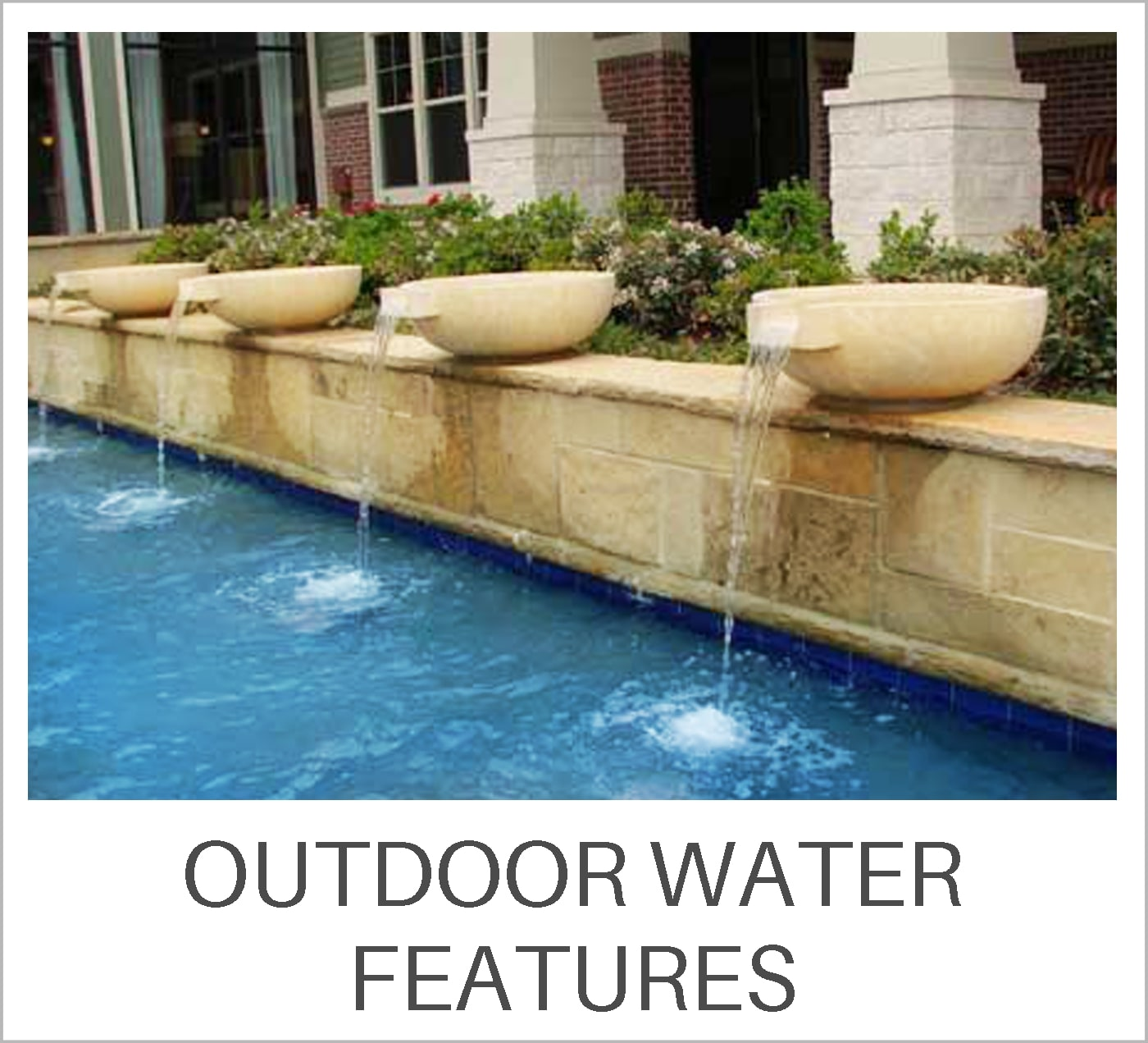 Outdoor Water Features Learning Center