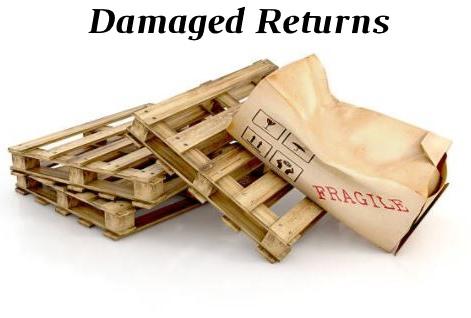 Return a damaged item