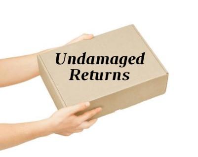 Return an undamaged item.