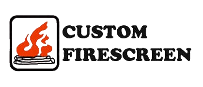Custom Firescreen, Inc. glass fireplace doors