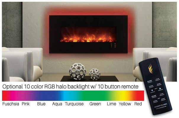 10 color Halo backlight offers a rainbow of colors!