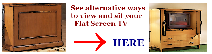 Alternative Ways to view your home Flat Screen.