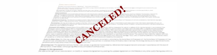 Canceled Warranty Image