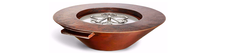 Copper fire bowl reference image and image link.