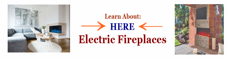 Learn about Electric Fireplaces Link Image