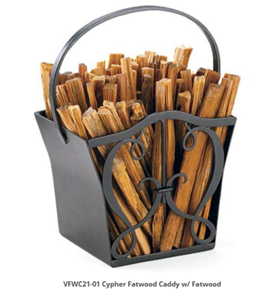 Fatwood Fire Stick Caddy.