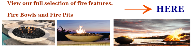 Fire bowls and fire pits mix reference image and image link.