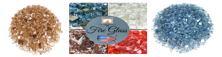 Fire glass for fire pits reference image and link.