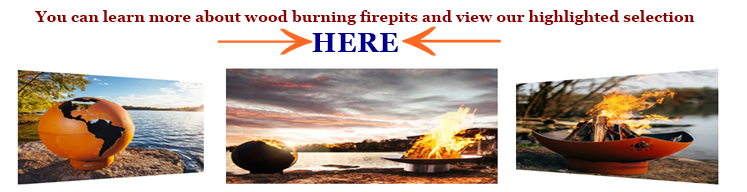 Image link to learn about firepits and see our highlighted selection.