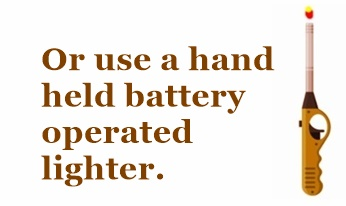 A reference graph showing an battery powered hand help lighter