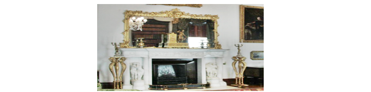 Mirror Above a Fireplace reference image.