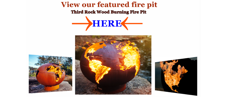 Third Rock Fire Pit Art Fire Pit image link.