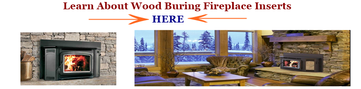Learn about wood burning fireplace inserts image link.