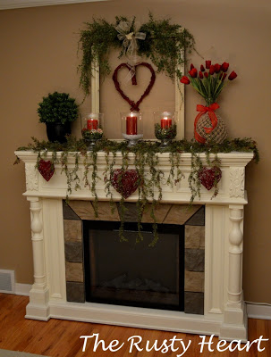 February 2020 Mantel of the Month: The Rusty Heart