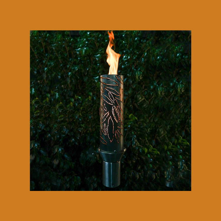 Serenity Stainless Steel Tiki Torch