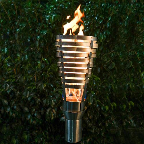 Sullivan Stainless Steel Tiki Torch Head