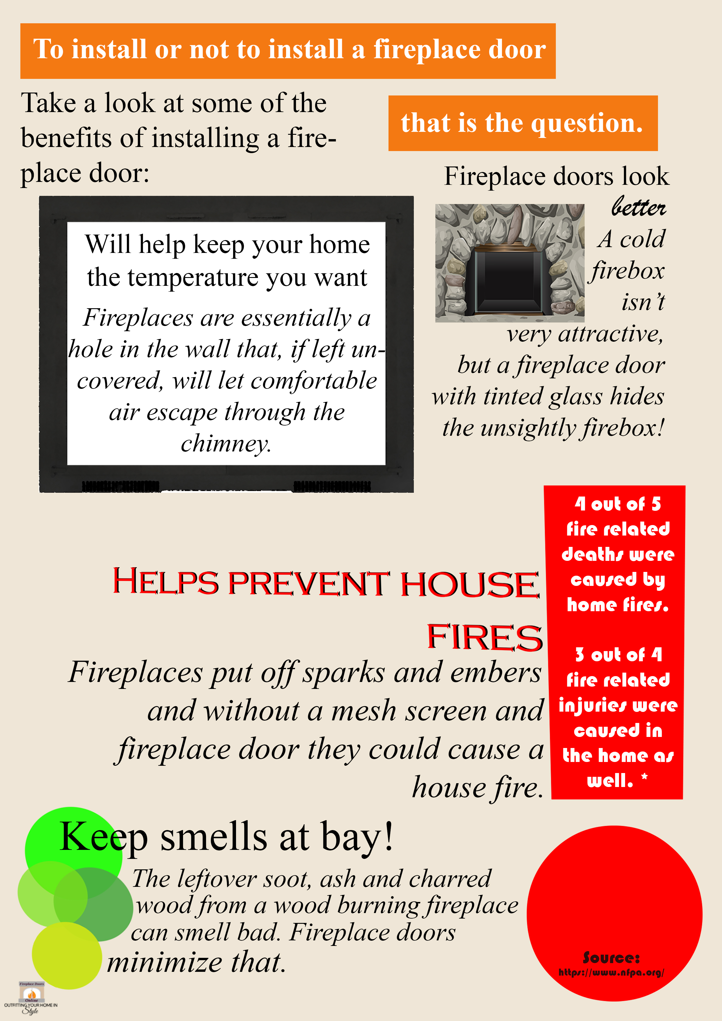 Benefits of a Fireplace Door