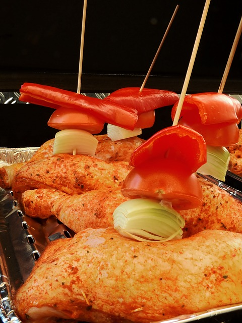 BBQ chicken drumsticks are perfect year around, so why not enjoy them in your outdoor kitchen?