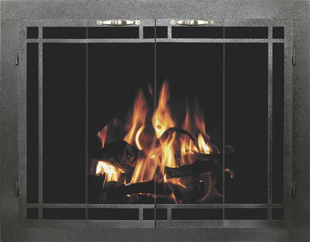 Columbia fireplace door by Stoll fireplace
