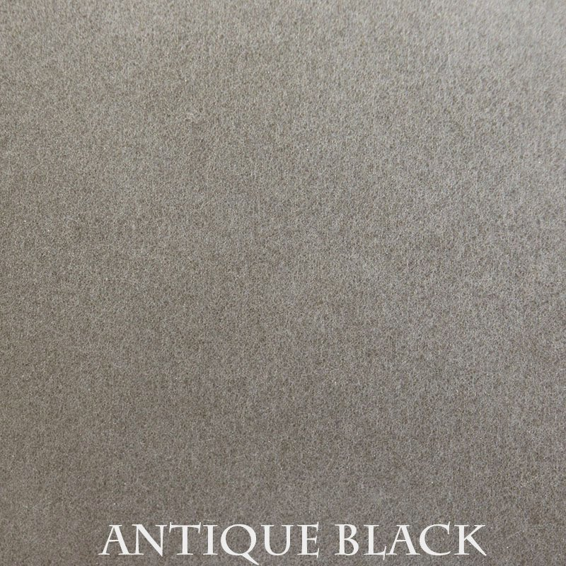 Antique Black premium finish for fireplace doors
