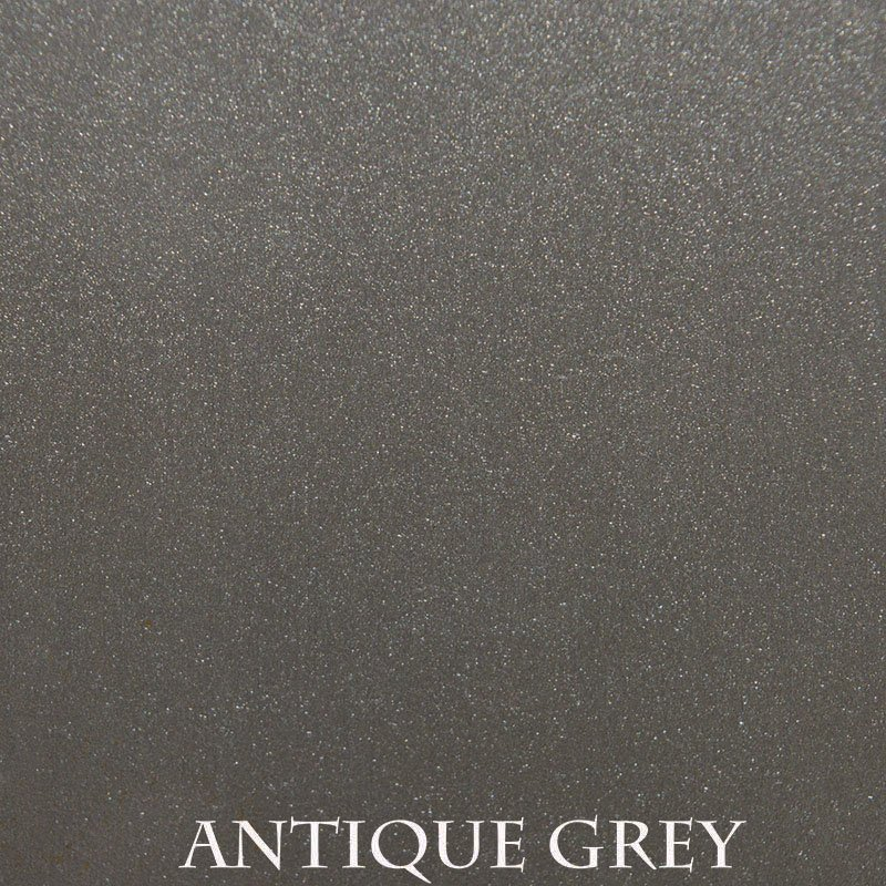 Antique Grey Premium Finish - two-step hand finished process / actual patterns and coloration of all hand-applied finishes may vary.