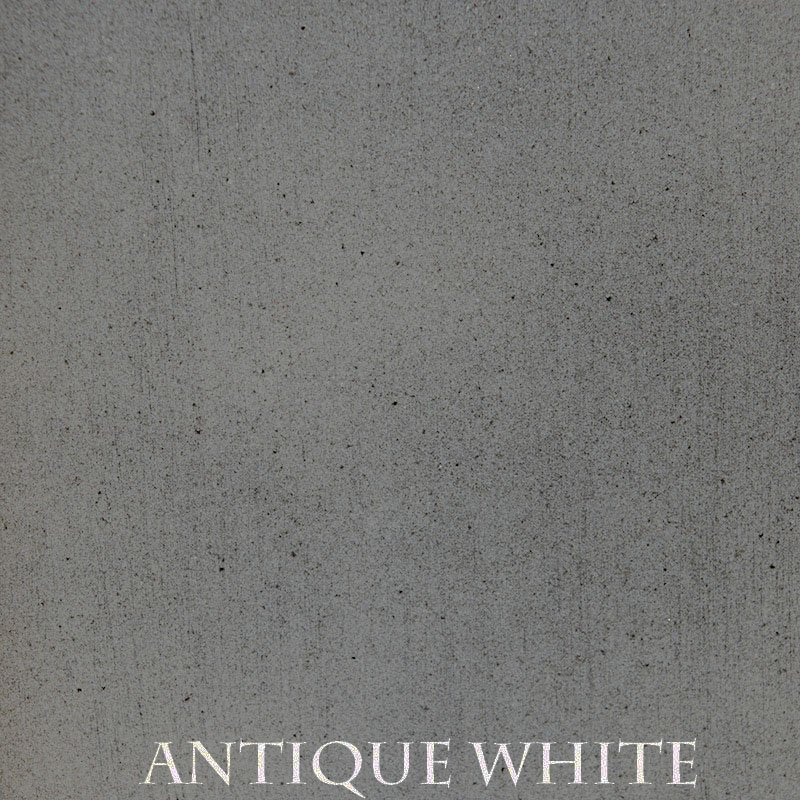 Antique White Premium Finish - two-step hand finished process/actual patterns and coloration of all hand-applied finishes may vary