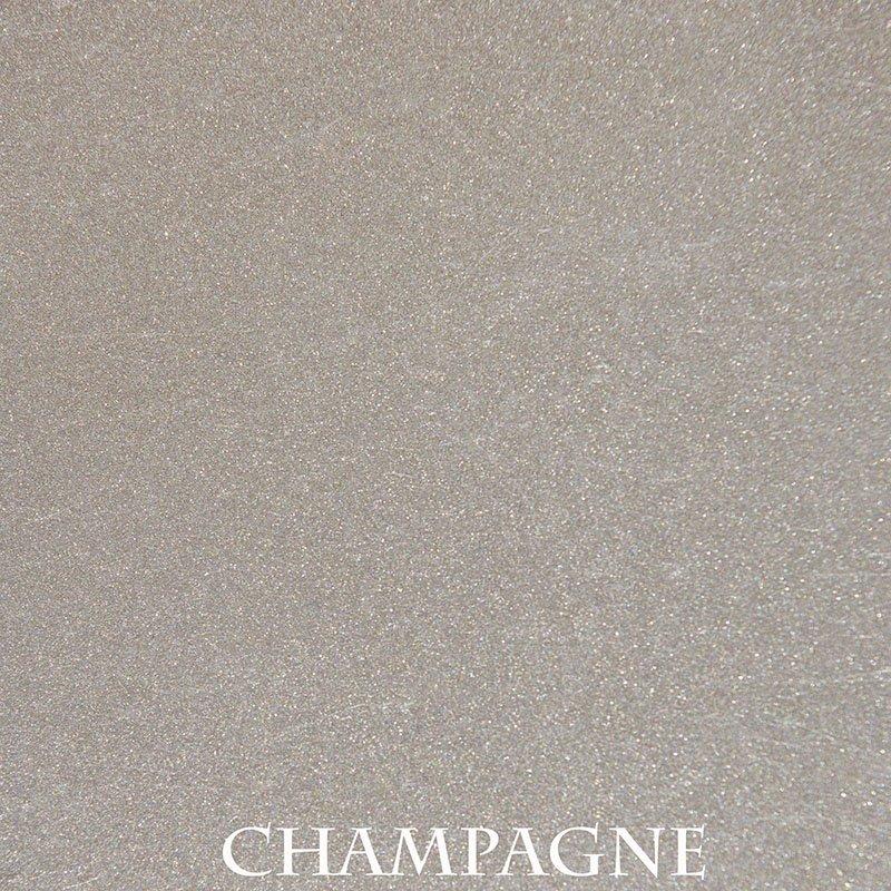 Champagne Powder Coat Finish