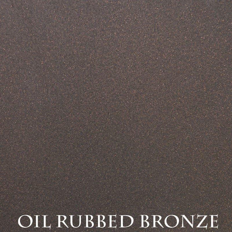 Oil Rubbed Bronze Powder Coat Finish