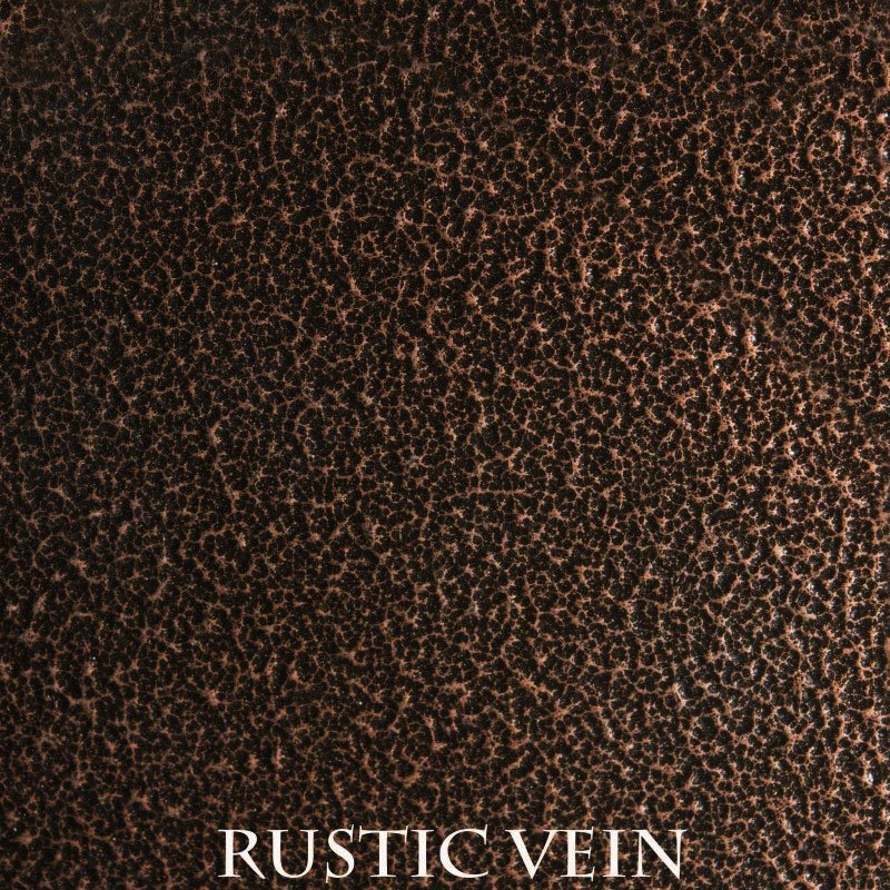 Rustic Vein Powder Coat Finish