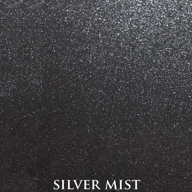 Silver Mist Premium Finish - two-step hand finished process/actual patterns and coloration of all hand-applied finishes may vary