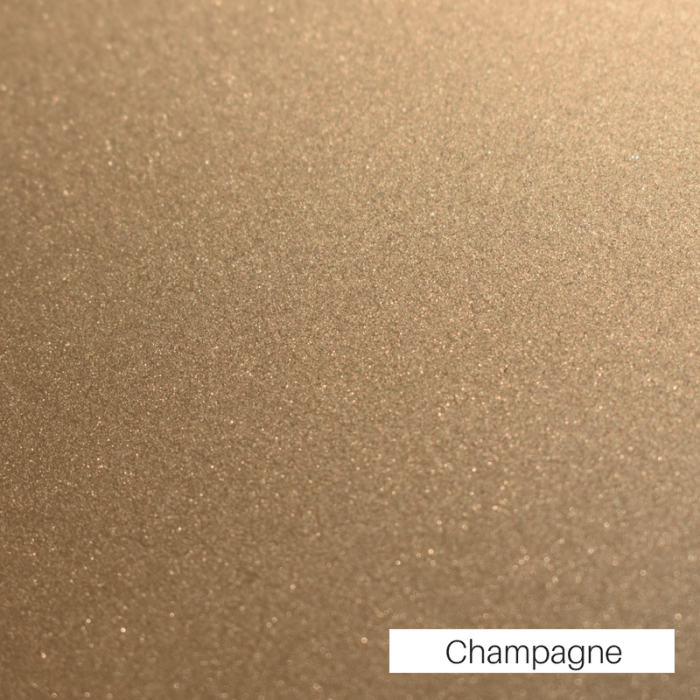 Champagne Powder Coat Finish