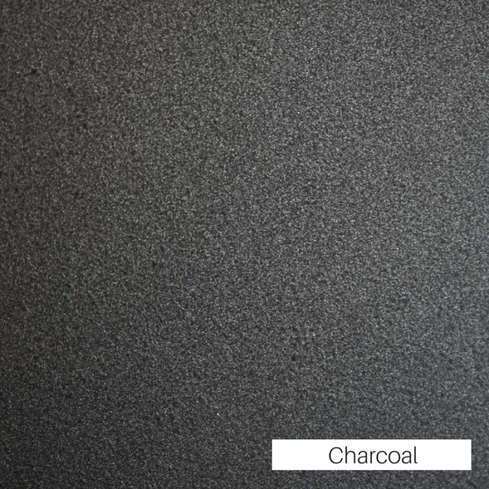 Charcoal Powder Coat Finish
