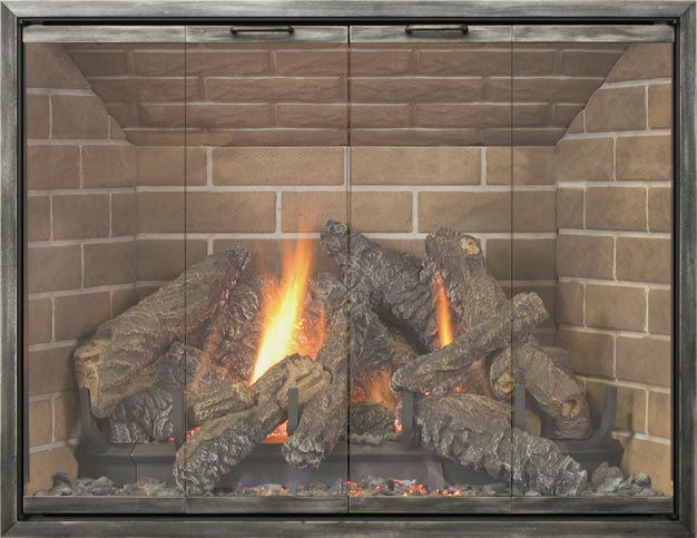 Lakewood fireplace door by Stoll fireplace