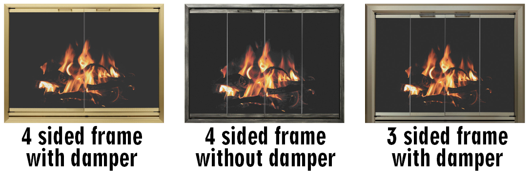 Legacy Doors damper styles